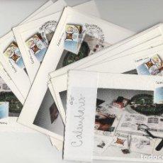 Francobolli: 1988 - ED 2962 XXV ANIVERSARIO DE FESOFI MAT DISTINTOS , CALENDARIO . 16 TM -TM /TARJETA MÁXIMA . Lote 184670588