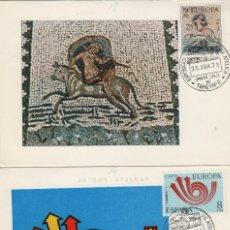 Timbres: 1973 - ED 2125/6 EUROPA CEPT MATASELLOS TENERIFE EXPOSICION PRIMER DIA-TM/TARJETA MÁXIMA. Lote 186032136