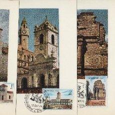 Sellos: 1974 -ED 2213/6 HISPANIDAD MATASELLO PUERTO SANTA MARIA ( CÁDIZ) EXPO PRIMER DIA-TM/TARJETA MÁXIMA. Lote 186155395