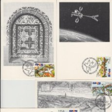 Sellos: 1990 ED 3050/3 EXPOSICION EXPO 92 SEVILLA MAT PRIMER DIA SEVILLA -TM/TARJETA MÁXIMA. Lote 187544650