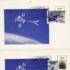 Sellos: 1991 ED 3116/7 EUROPA CEPT MATASELLO MADRID PRIMER DIA -TM/TARJETA MÁXIMA. Lote 187545537