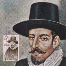 Sellos: FRANCISCO DE TOLEDO FORJADORES DE AMERICA 1964 (EDIFIL 1623) EN TARJETA MAXIMA PRIMER DIA. RARA. MPM. Lote 190633146