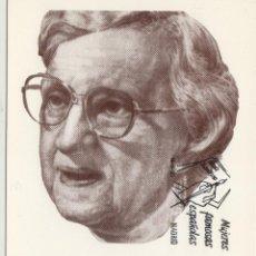 Sellos: 1993 - 3241 MUJERES FAMOSAS , MARIA ZAMBRANO , VÉLEZ MÁLAGA MAT PRIMER DIA - TM /TARJETA MÁXIMA. Lote 193169776