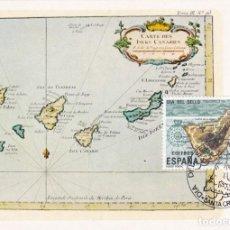 Sellos: ISLAS CANARIAS DIA DEL SELLO 1982 (EDIFIL 2668) EN TM PD MATASELLOS SANTA CRUZ DE TENERIFE. RARA ASI. Lote 206138912