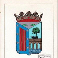 Sellos: ESCUDO DE SALAMANCA 1965 MATASELLOS PROVINCIA (EDIFIL 1635) EN TARJETA MAXIMA PRIMER DIA. MPM.. Lote 206560523