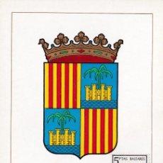 Sellos: ESCUDO DE BALEARES 1962 MATASELLOS MADRID (EDIFIL 1412) EN TARJETA MAXIMA PRIMER DIA. MPM.. Lote 207307182