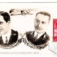 Sellos: PRO UNION IBEROAMERICANA CORREO AEREO SEVILLA 1930 TARJETA JIMENEZ E IGLESIAS.. Lote 207308055