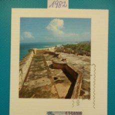 Sellos: 1982-TARJETAS MAXIMAS-SERIE COMPLETA-AMERICA-ESPAÑA-LA FORTALEZA-SAN JUAN DE PUERTO RICO. Lote 210285723