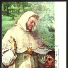 Sellos: TARJETA MAXIMA PRIMER DIA SAN PEDRO NOLASCO. 1963. Lote 210636973
