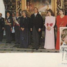 Selos: 1989 HOMENAJE FAMILIA REAL XIV EXPOSICION ALGECIRAS ( CÁDIZ ) -TM/TARJETA MÁXIMA. Lote 215373017