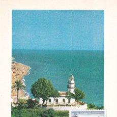 Sellos: FARO DE CALELLA PAISAJES Y MONUMENTOS 1986 (EDIFIL 2838) TM BARCELONA OLIMPICA FILATEM CALELLA. RARA. Lote 217889152