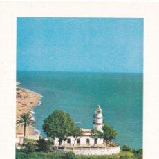 Sellos: FARO DE CALELLA PAISAJES Y MONUMENTOS 1986 (EDIFIL 2838) EN TM EXPOSICION CALELLA (BARCELONA). RARA.. Lote 217889241