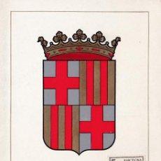 Sellos: ESCUDO DE BARCELONA 1962 MATASELLOS MADRID (EDIFIL 1413) EN TARJETA MAXIMA PRIMER DIA. MPM.. Lote 218187471