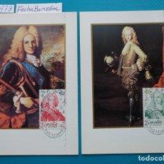 Sellos: 1978-ESPAÑA-TARJETAS MAXIMAS-REYES DE ESPAÑA-CASA DE BORBON-SERIE COMPLETA (10-TARJETAS). Lote 218712256