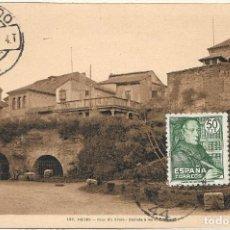 Sellos: RELIGION PADRE BENITO J FEIJOO 1947 (EDIFIL 1011) EN BONITA Y RARA TM PD CON MATASELLOS TOLEDO.. Lote 220230808