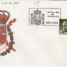 Selos: 1990 ED 3096/7 SERIE BÁSICA DEL REY D. JUAN CARLOS , SFC SOBRE PRIMER DIA SPD. Lote 221251276