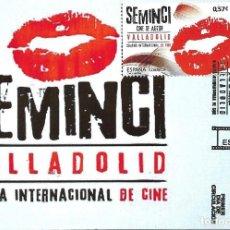 Sellos: CINE ESPAÑOL SEMINCI SEMANA INTERNACIONAL 2016 (EDIFIL 5094) EN TM PRIMER DIA MATASELLOS VALLADOLID.. Lote 68120733