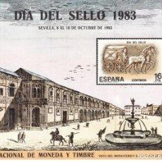 Sellos: 1983-ESPAÑA-TARJETAS MAXIMAS-DIA DEL SELLO. Lote 222230561