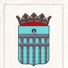 Sellos: ESCUDO DE SEGOVIA 1965 MATASELLOS PROVINCIA (EDIFIL 1637) EN TARJETA MAXIMA PRIMER DIA. MPM.. Lote 223792271