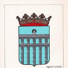 Sellos: ESCUDO DE SEGOVIA 1965 MATASELLOS MADRID (EDIFIL 1637) EN TARJETA MAXIMA PRIMER DIA. MPM.. Lote 223792512