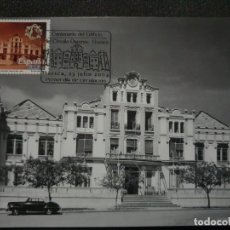 Timbres: TARJETA MÁXIMA - EDIFICIO DEL CIRCULO OSCENSE HUESCA 2004. Lote 227642590