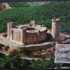 Sellos: TARJETA MÁXIMA - CASTILLO DE BELLVER PALMA DE MALLORCA 1970. Lote 228597440
