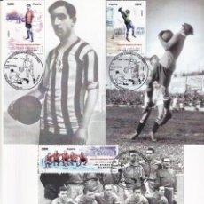 Sellos: 1900-2010 SELECCION ESPAÑOLA DE FUTBOL 2011 (EDIFIL 4665/4666) EN DIEZ TM PRIMER DIA CUÑO. MUY RARAS. Lote 215413683