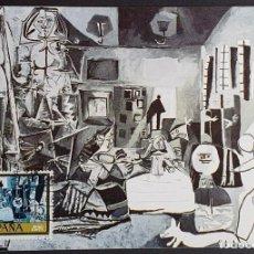 """Selos: TARJETA MÁXIMA - MUSEO PABLO PICASSO: """"LAS MENINAS"""" BARCELONA 1978. Lote 232964555"""