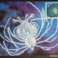 Sellos: TARJETA MÁXIMA PORTUGAL - EXPO´98: OCEANOS, O CAVAQUINHO, LISBOA 1998. Lote 236372565