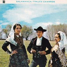 Sellos: SALAMANCA TRAJE CHARRO AMERICA UPAEP 1996 (EDIFIL 3452) EN TM MATASELLOS SALAMANCA. RARA ASI.. Lote 236543565