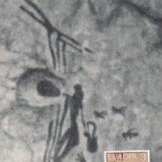 Sellos: CUEVA DE LA ARAÑA PINTURAS RUPESTRES EUROPA 1975 (EDIFIL 2259) TM MATASELLLOS BICORP (VALENCIA) WXZ. Lote 243556025