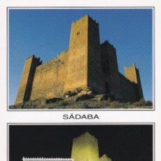 Sellos: CASTILLO DE SADABA (ZARAGOZA) CASTILLOS DE ESPAÑA 1970 (EDIFIL 1980) TM MATASELLOS SADABA RARA. WXZ. Lote 243826225