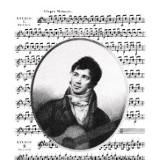 Sellos: FERNANDO SOR AÑO EUROPEO DE LA MUSICA 1985 (EDIFIL 2805) EN RARA TARJETA MAXIMA PRENSAFIL ZARAGOZA. Lote 243989425