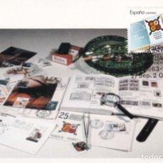 Sellos: FESOFI 25 XXV ANIVERSARIO FEDERACION ESPAÑOLA 1988 (EDIFIL 2962) EN TM MATASELLOS MADRID. RARA ASI.. Lote 244495920