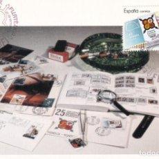 Sellos: FESOFI 25 XXV ANIVERSARIO FEDERACION ESPAÑOLA 1988 (EDIFIL 2962) EN TM MATASELLOS BARCELONA RARA ASI. Lote 244496145