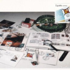 Sellos: FESOFI 25 XXV ANIVERSARIO FEDERACION ESPAÑOLA 1988 EDIFIL 2962 TM MATASELLOS PALMA MALLORCA BALEARES. Lote 244496500