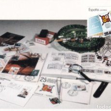 Sellos: FESOFI 25 XXV ANIVERSARIO FEDERACION ESPAÑOLA 1988 (EDIFIL 2962) TM MATASELLOS LOGROÑO LA RIOJA RARA. Lote 244497765