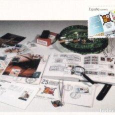 Sellos: FESOFI 25 XXV ANIVERSARIO FEDERACION ESPAÑOLA 1988 (EDIFIL 2962) EN TM MATASELLOS MALAGA. RARA ASI. Lote 244498345