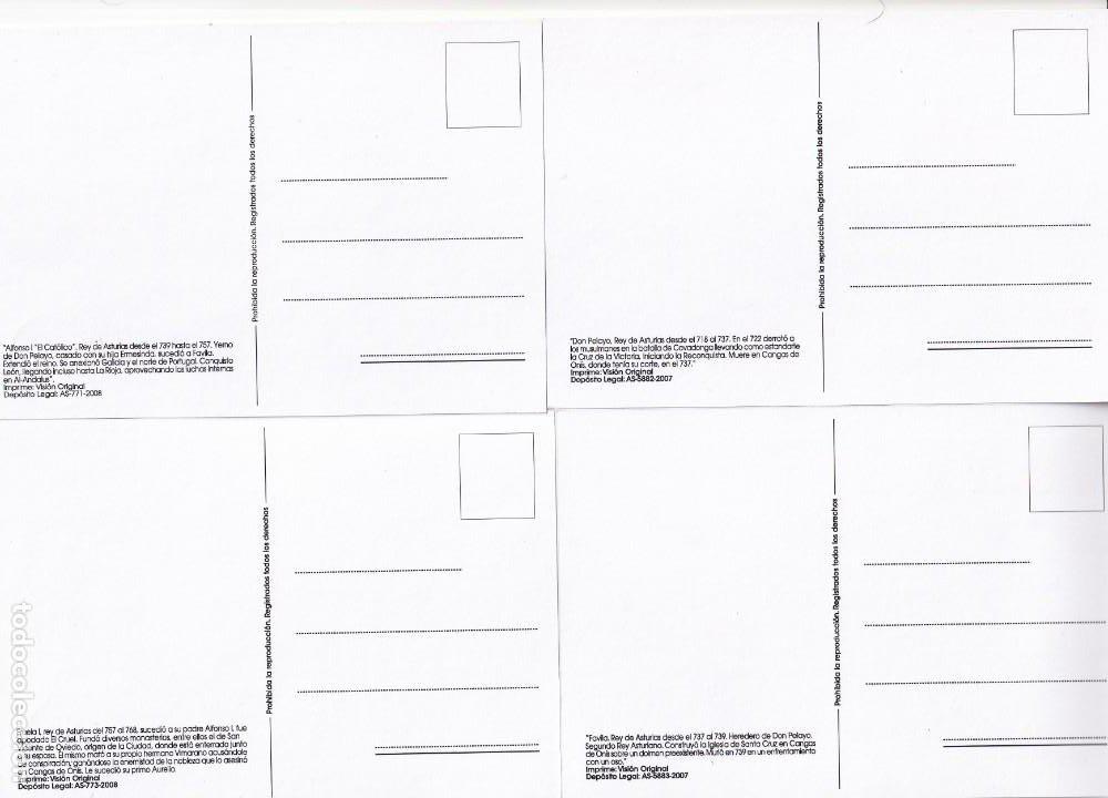 Sellos: TU SELLO REYES ASTURIAS 2008 BONITO Y MUY RARO CONJUNTO DE LAS DOCE TARJETAS MAXIMAS DIFERENTES MPM - Foto 2 - 244663010