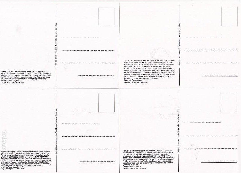 Sellos: TU SELLO REYES ASTURIAS 2008 BONITO Y MUY RARO CONJUNTO DE LAS DOCE TARJETAS MAXIMAS DIFERENTES MPM - Foto 6 - 244663010