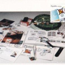 Sellos: FESOFI 25 XXV ANIVERSARIO FEDERACION ESPAÑOLA 1988 (EDIFIL 2962) TM SANTA CRUZ DE TENERIFE (CANARIAS. Lote 244667735