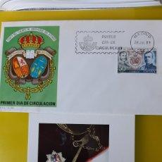 Sellos: 1981 ESPAÑA EDIFIL 2624 SFC 563 TARJETA POSTAL MATASELLO CUERPOS ABOGADOS ESTADO. Lote 244818325