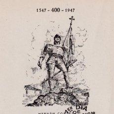 Timbres: HERNAN CORTES PERSONAJES 1948 (EDIFIL 1035) EN TARJETA MAXIMA PRIMER DIA EDICIONES TOLEDO MOD 1.. Lote 245056865