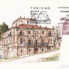 Sellos: PALACIO DE SOÑANES CANTABRIA TURISMO 1987 (EDIFIL 2902) EN TM PRIMER DIA MATASELLOS MADRID.. Lote 245958545