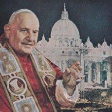 Sellos: RELIGION PAPA JUAN XXIII CONCILIO ECUMENICO VATICANO II 1962 (EDIFIL 1480) EN TM PRIMER DIA. MPM. Lote 246293950