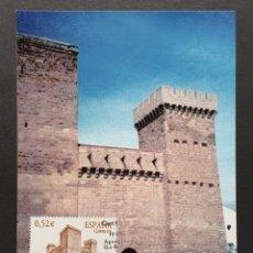 Selos: TARJETA MÁXIMA - CASTILLO DE AGUA MANSAS AGONCILLO LA RIOJA 2004. Lote 249443680