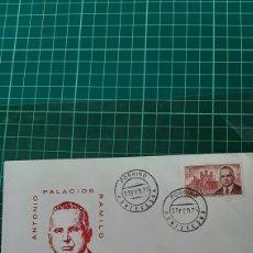 Sellos: 1975 PORRIÑO MATASELLO ANTONIO PALACIOS RAMILLO EDIFIL 2242 SOBRE MATASELLO. Lote 254479090