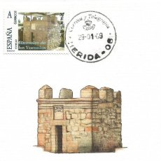 "Selos: SPAIN MAXICARD – ESPAÑA TARJETA MÁXIMA CON SELLO PERSONALIZADO DE ""LOS COLUMBARIOS"" DE MÉRIDA. Lote 260769120"