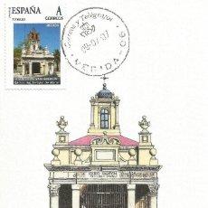 "Selos: SPAIN MAXICARD – ESPAÑA TARJETA MÁXIMA CON SELLO PERSONALIZADO DEL ""HORNITO DE SANTA EULALIA"" MÉRIDA. Lote 260769890"
