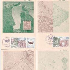 Sellos: ESPAMER 80 EXPOSICION AMERICA Y EUROPA 1980 (EDIFIL 2583 2579/82) EN CUATRO TM ZARAGOZA MISMO NUMERO. Lote 260870450